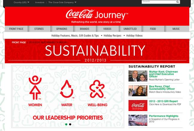 2012-2013 Sustainability Report