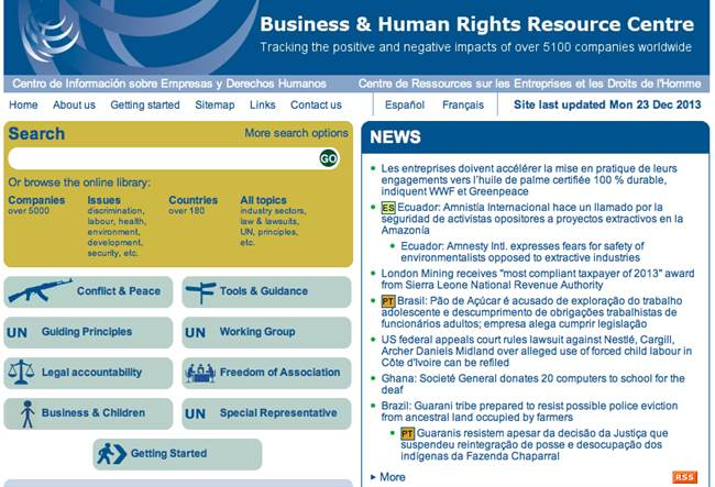 Business & Human Rights Resource Centre