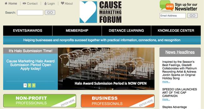Cause Marketing Forum