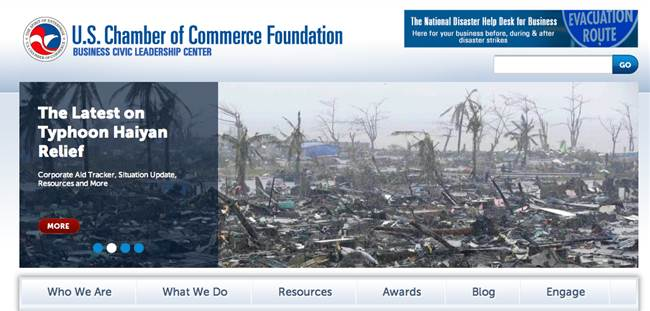 the U.S. Chamber of Commerce Foundation