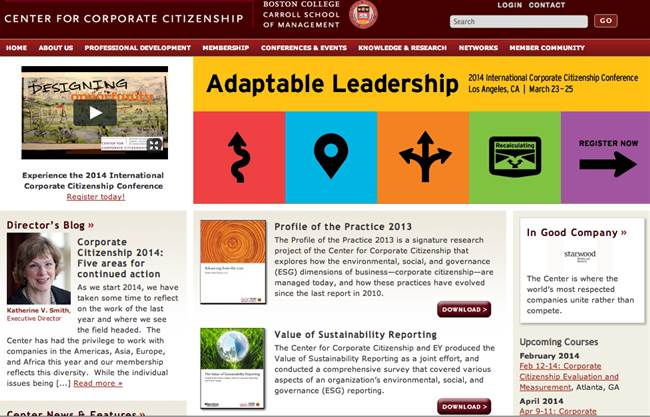 Center for Corporate Citizenship