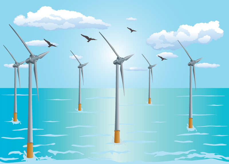 所 洋上 世界 発電 最大 風力