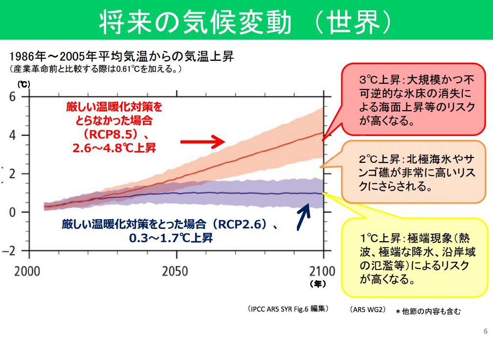 将来の気候変動