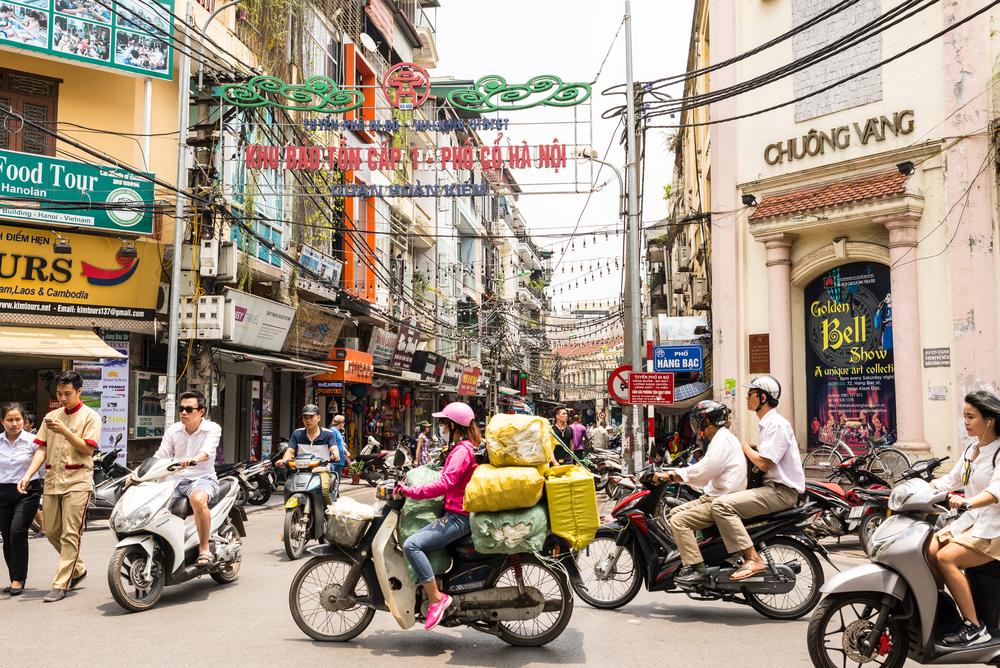 ベトナム首都ハノイ市政府は7月4日、2030年までに自動二輪車の走行を全面的に禁止することを決めた。自動二輪車走行が、大気汚染や渋滞の大きな原因になっている