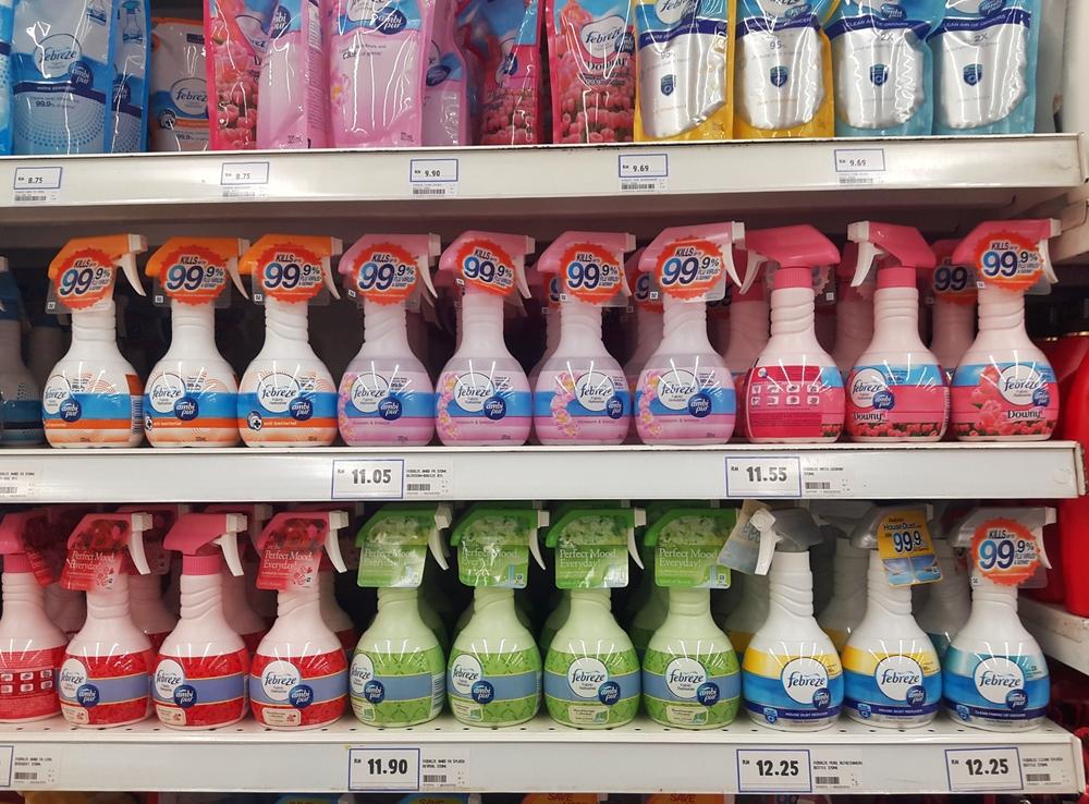 【アメリカ】P&G、米国・カナダで全商品の香料成分情報開示を決定。徐々に地域拡大 1