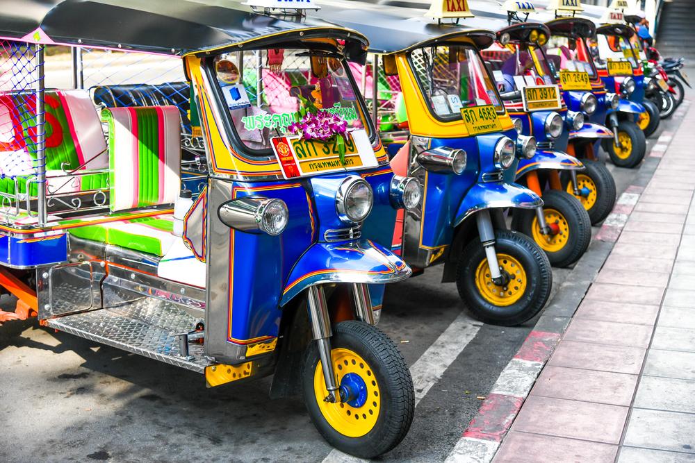 【タイ】政府、トゥクトゥク全てを2025年までにEV化。EV生産の産業拠点化も計画 1