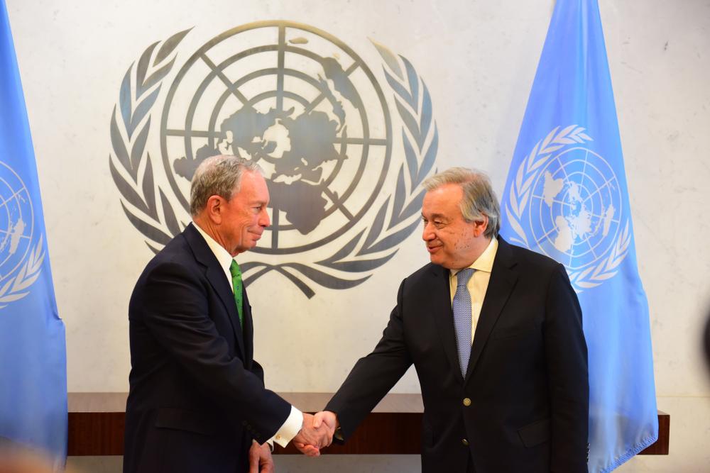 【国際】マイケル・ブルームバーグ氏、気候変動アクション担当国連特使に就任 1