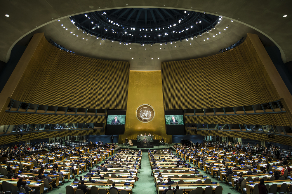 【国際】国連、国連組織改革の国連総会決議案公表。SDGs達成に向け国別活動調整チームの権限強化 1