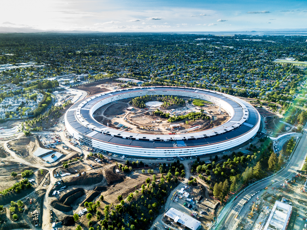 【アメリカ】アップル、世界全事業所で再エネ100%達成。サプライヤー9社も100%宣言 1
