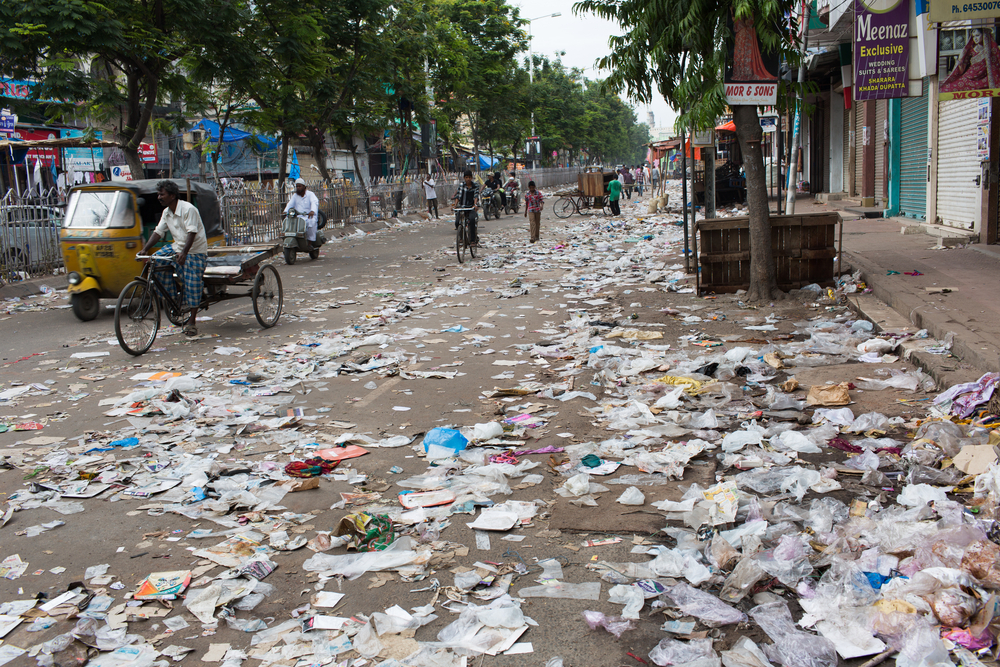 【インド】モディ首相、2022年までに使い捨てプラスチック用品を廃止と宣言 1