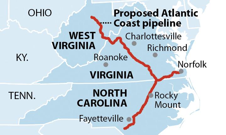 【アメリカ】IEEFA、Atlantic Coast Pipelineの収益性に大きな疑問符。天然ガス需要は伸びない 2