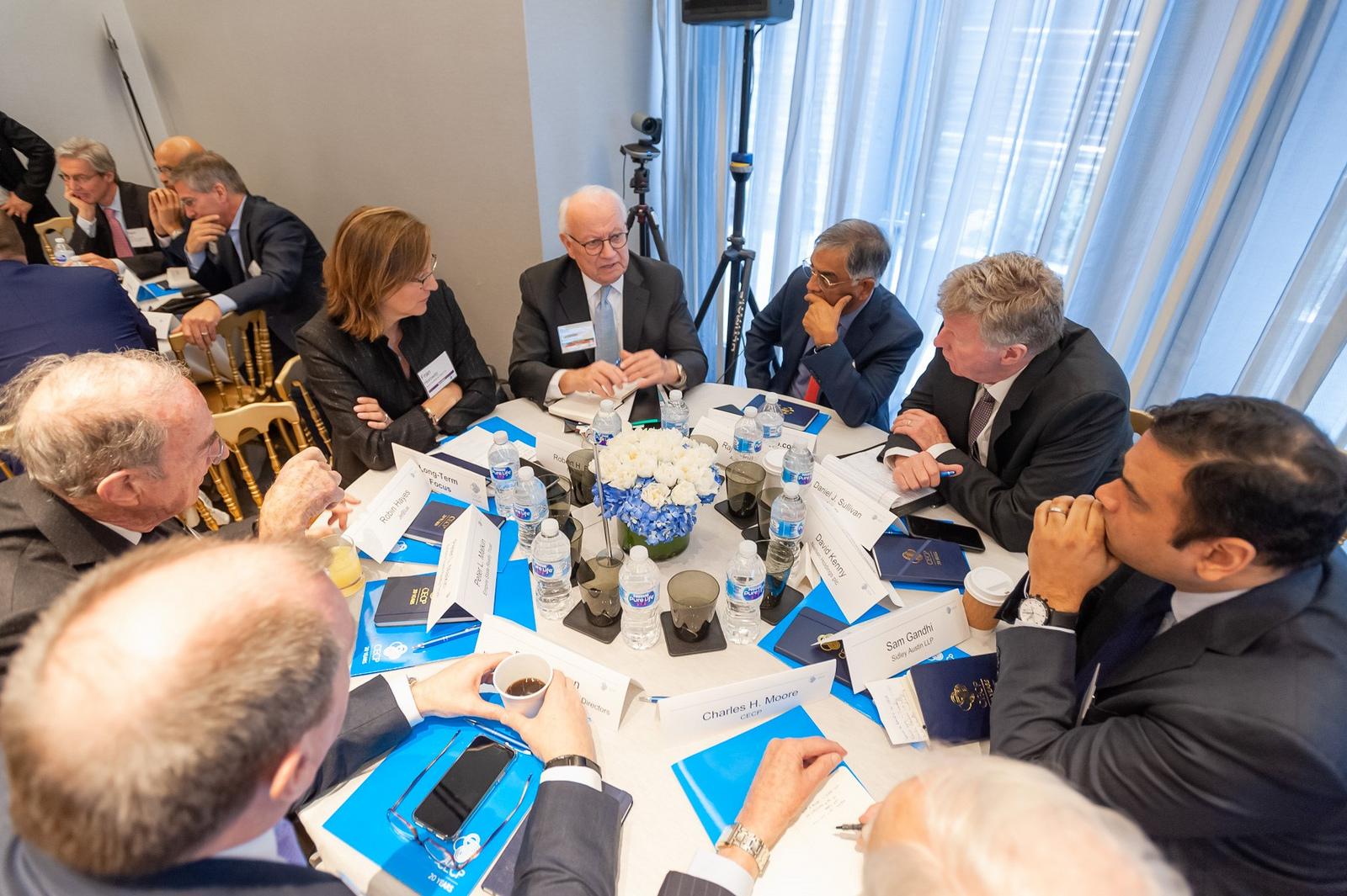 【国際】グローバル企業60社CEO、CECP20周年イベントに参加。長期志向経営に向け議論 1