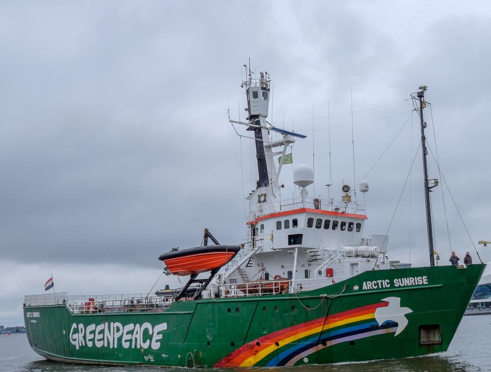 【ロシア】政府、グリーンピースに3.3億円の賠償支払で合意。北海油田開発妨害の船舶拿捕事件 1