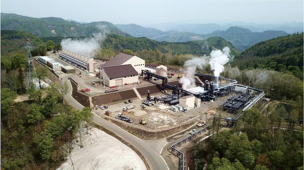 【日本】秋田県の国有林で建設の山葵沢地熱発電所、営業運転開始。23年ぶりの大規模地熱 1