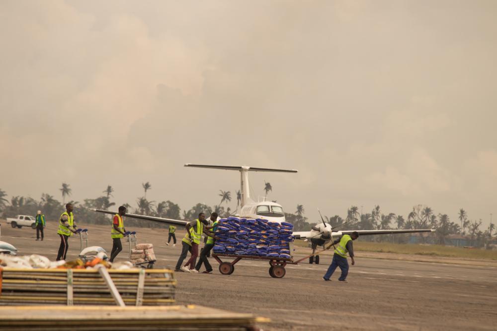 【モザンビーク】人道NGOグループCOSACA、巨大サイクロン後の食糧危機で支援訴え 1