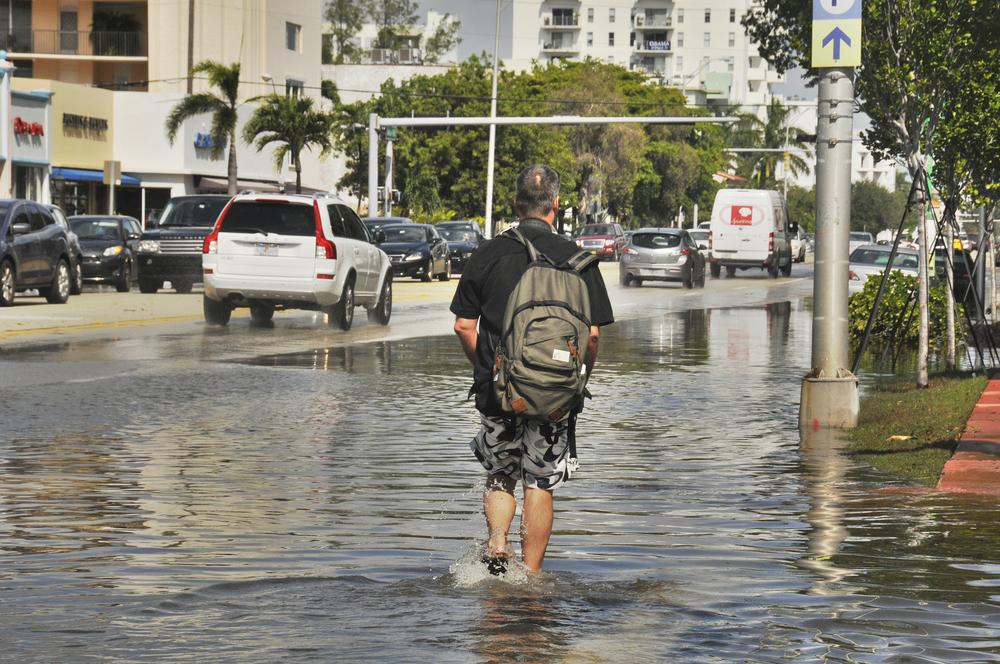 【アメリカ】海洋大気庁、2018年の高潮洪水統計を発表。98回で過去最大の回数。今後も大きく増加 1