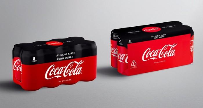 【イギリス】コカ・コーラ・ヨーロピアン・パートナーズ、複数パック梱包素材をプラから認証紙に転換 1