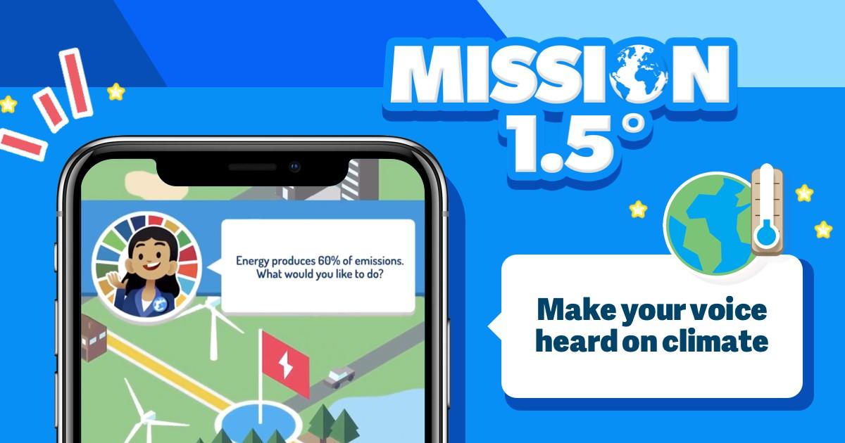 【国際】UNDP、気候変動アクションに関する市民の声を収集するゲームをリリース 1