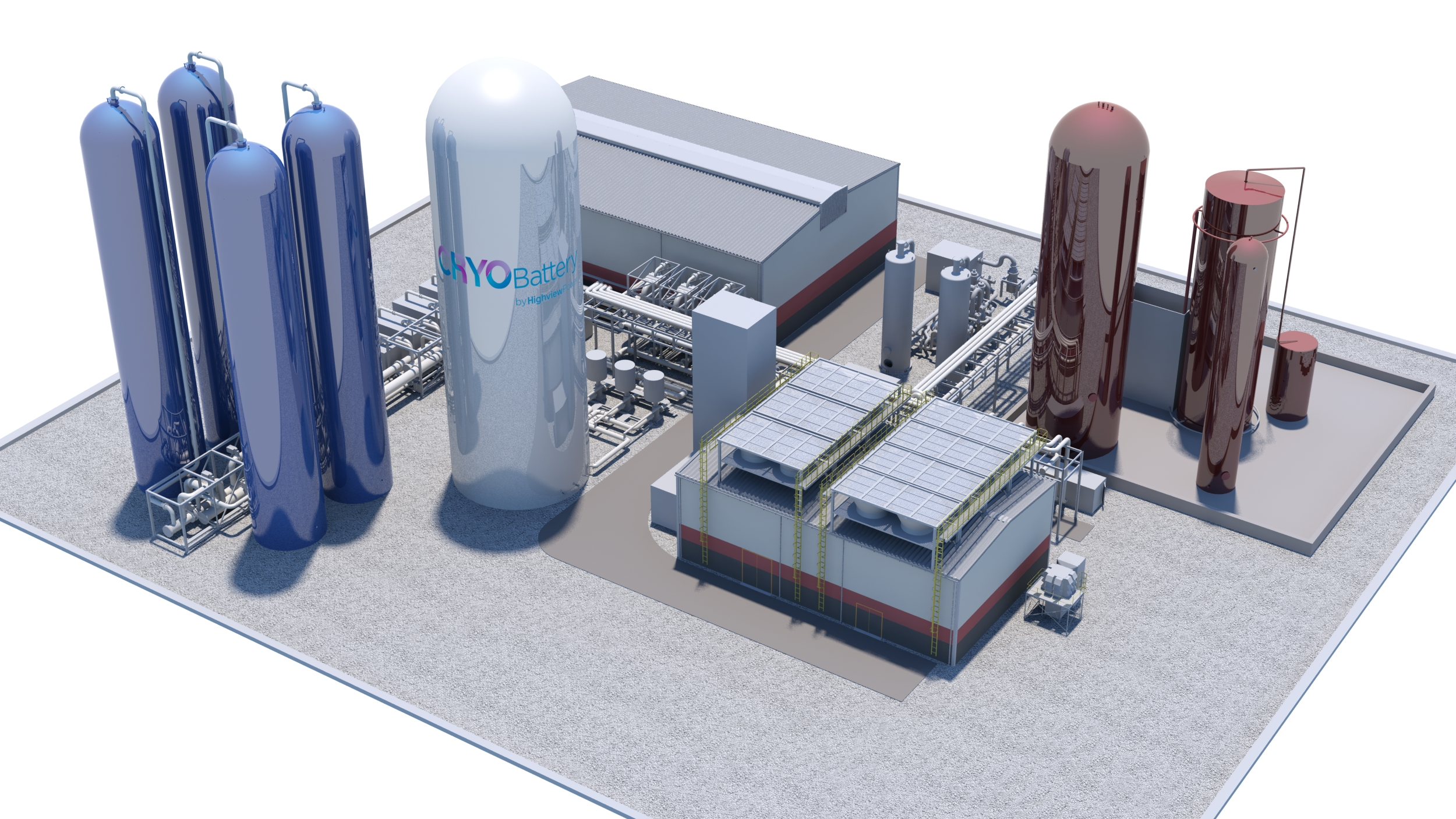 【イギリス】世界最大の「液体空気蓄電所」の建設開始。容量250MWh。住友重機械工業も出資 1