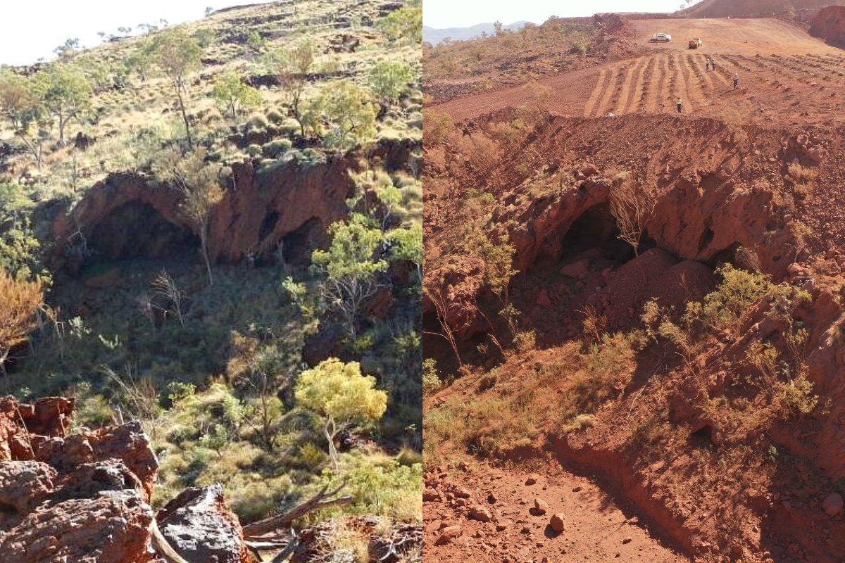 【オーストラリア】リオ・ティント、46000年前の先住民族の遺跡を爆破。BHPは採掘計画を一時停止 1