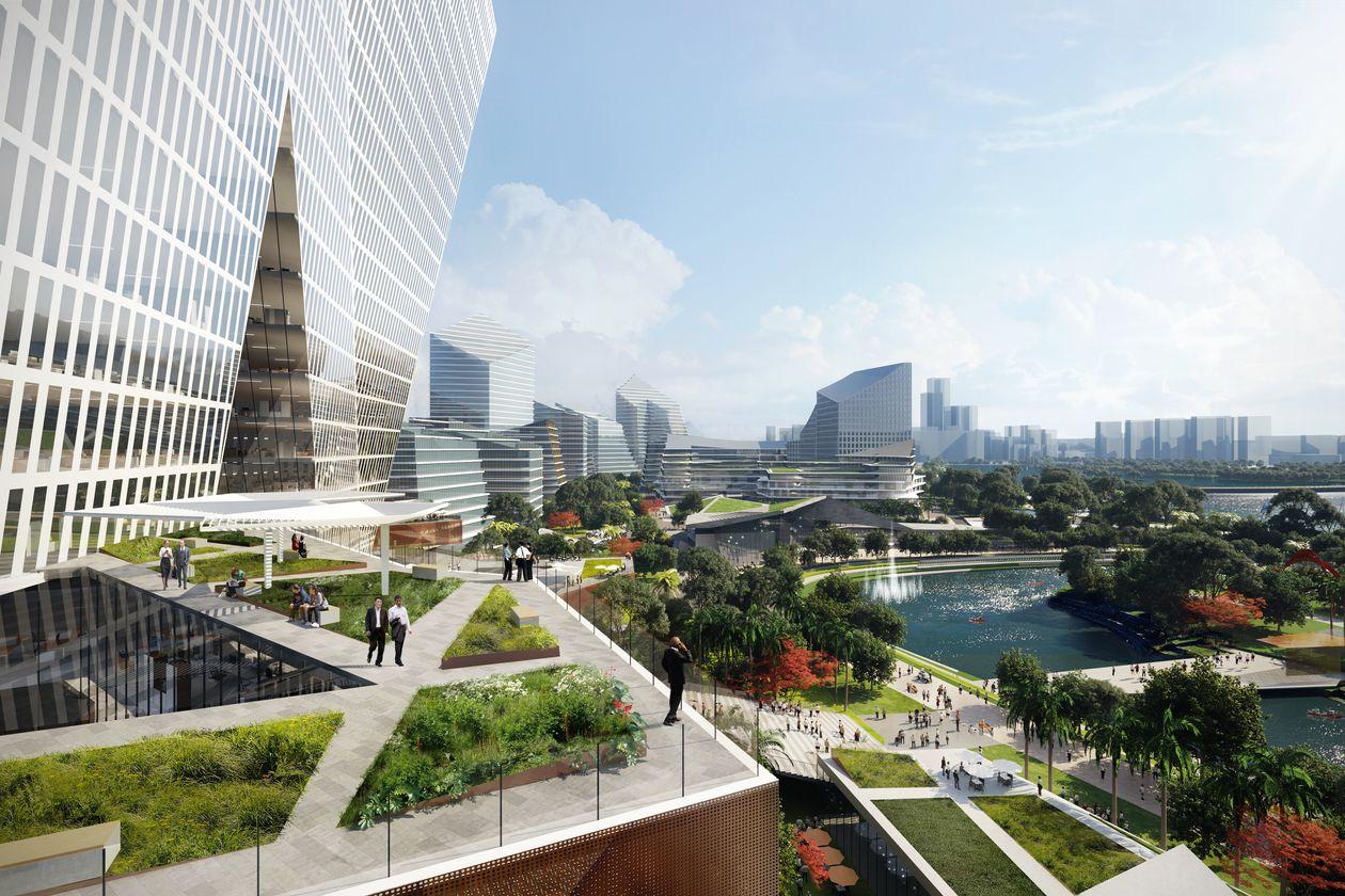 【中国】テンセント、モナコと同規模のスマートシティNet Cityを深圳に建設。サステナビリティ重視 1