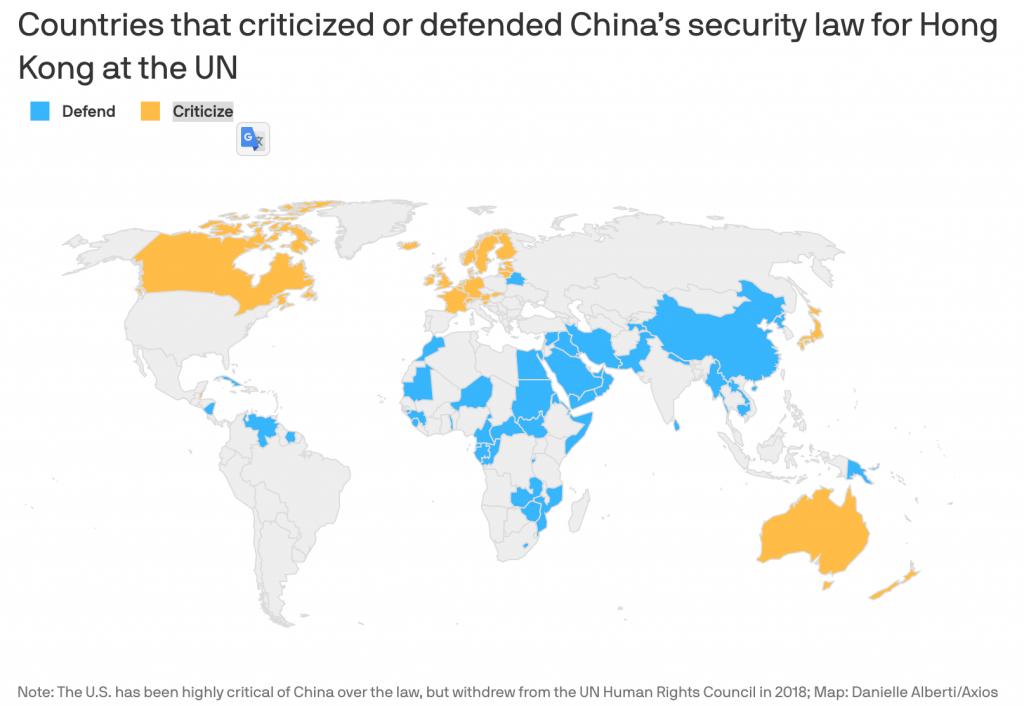 【香港】中国、香港国家安全維持法を制定。域外適用規定も 2