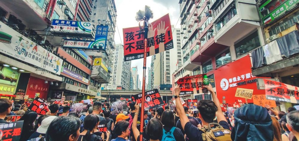 【香港】中国、香港国家安全維持法を制定。域外適用規定も 1