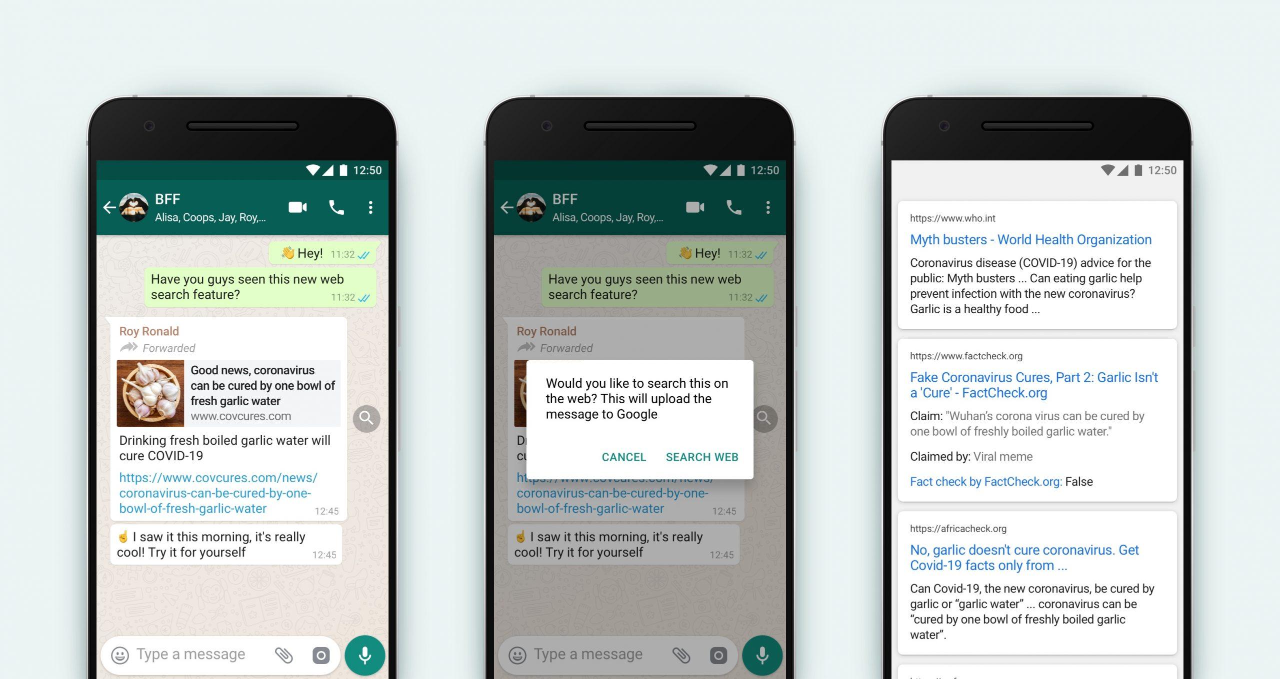 【国際】WhatsApp、繰り返し転送のメッセージに対しマーク表示。偽情報等のトラブル防止 2