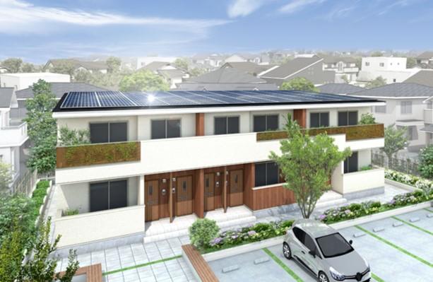 【日本】大東建託、日本初のLCCM賃貸住宅の建設開始。ライフサイクル全体でカーボンネガティブ 1